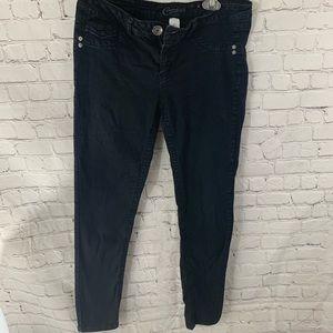 Candies Black Skinny Jeans Pants